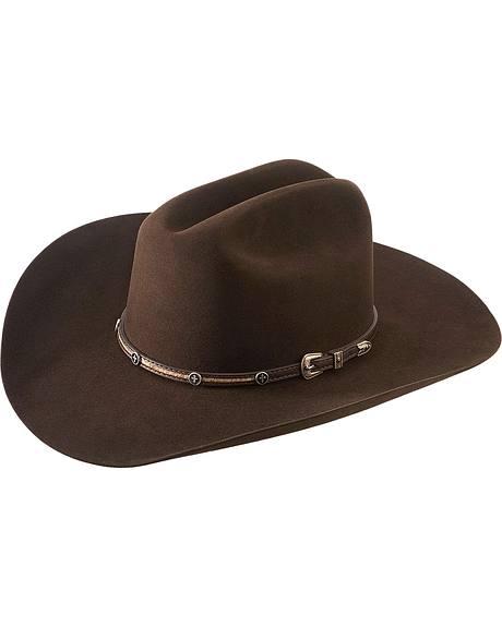 Larry Mahan 5X Las Cruses Fur Felt Cowboy Hat