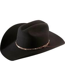 Larry Mahan 5X Brindle Fur Felt Cowboy Hat