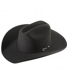 Larry Mahan 5X Good Ride Black Fur Felt Cowboy Hat