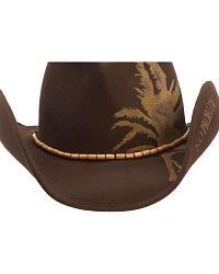 Kenny Chesney Leaf Wool Felt Cowboy Hat at Sheplers
