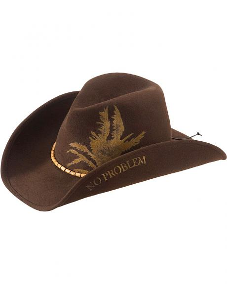 Kenny Chesney Leaf Wool Felt Cowboy Hat
