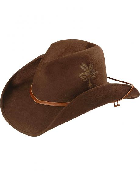 Kenny Chesney Sloped Guitar Wool Felt Cowboy Hat