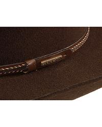 Stetson 4X Big Flats Buffalo Wool Felt Cowboy Hat at Sheplers