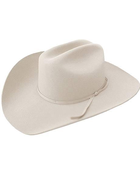 Stetson 3X Cattleman Bone Stallion Fur Felt Cowboy Hat