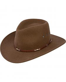 Stetson Wildwood Acorn Crushable Wool Felt Hat