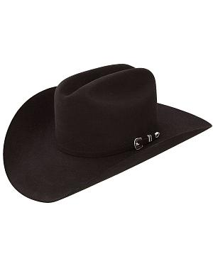 Resistol 6X City Limits Black Fur Felt Cowboy Hat