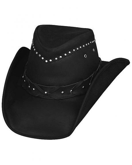 Bullhide Burnt Dust Top Grain Leather Hat