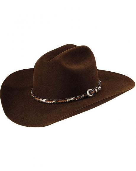 Larry Mahan 5X Flint Fur Felt Cowboy Hat