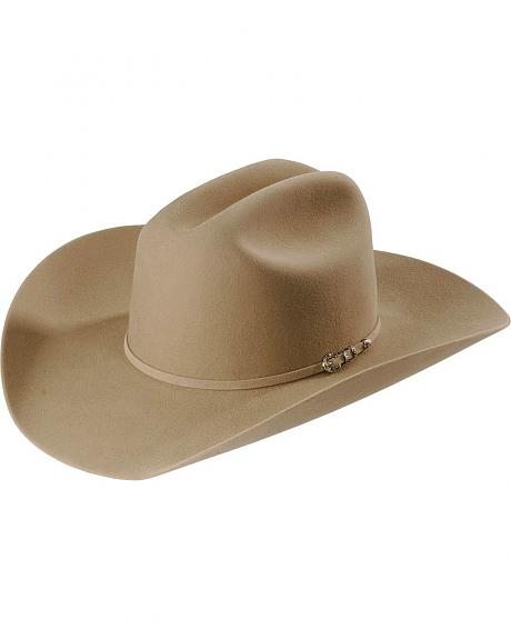 Larry Mahan 5X Good Ride Desert Fur Felt Cowboy Hat