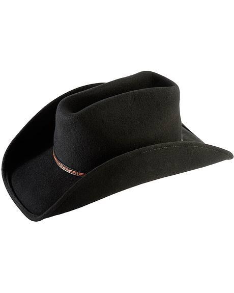 Scala Wool Felt Western Cowboy Hat