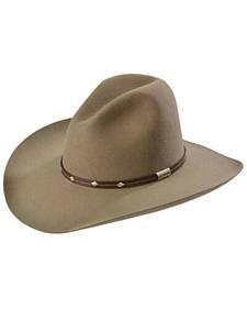Stetson 4X Silver Mine Buffalo Felt Cowboy Hat