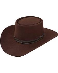 Stetson 4X Buffalo Revenger Felt Gambler Hat