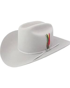 Stetson 6X Silverbelly Rancher Fur Felt Cowboy Hat