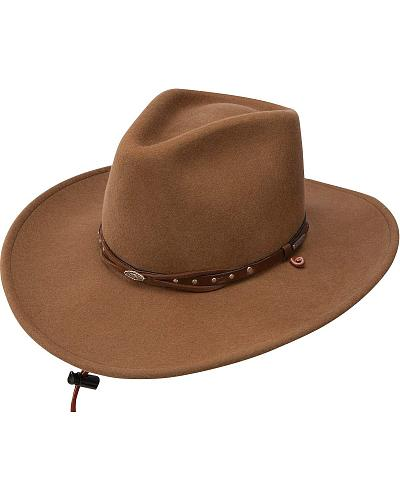 how to clean a stetson felt hat