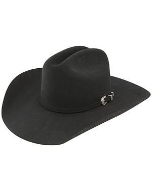 Resistol 5X Challenger Fur Felt Black Cowboy Hat