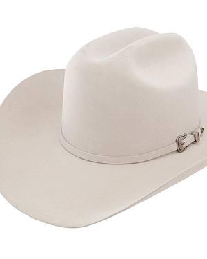 Resistol 5X Challenger Fur Felt Silverbelly Cowboy Hat
