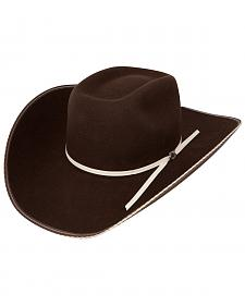 Resistol 4X Tuff Hedeman Snake Eyes Felt Cowboy Hat