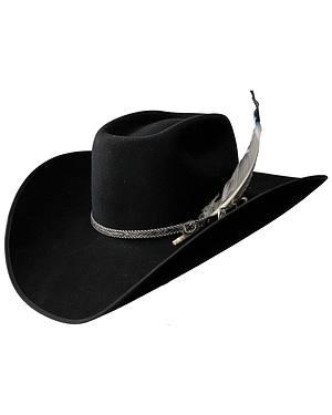 Resistol 4X Tuff Hedeman Bull Bash Felt Cowboy Hat