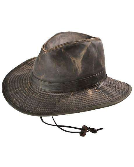 Weathered UPF50 Outback Hat