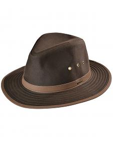 Outback Trading Co. Brown Madison River UPF50 Sun Protection Oilskin Hat
