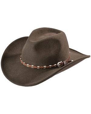 Outback Trading Co. Brown Wallaby UPF50 Sun Protection Crushable Hat