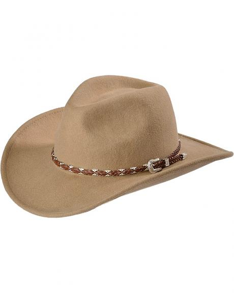 Outback Trading Co. Cocoa Wallaby UPF50 Sun Protection Crushable Hat