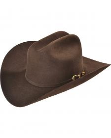 Larry Mahan Chocolate Reno 6X Fur Felt Cowboy Hat