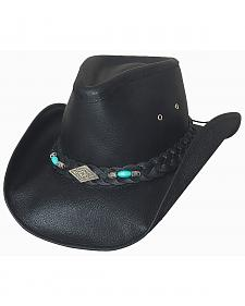 Bullhide Royston Leather Cowboy Hat