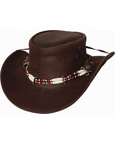Bullhide Uplander Leather Cowboy Hat