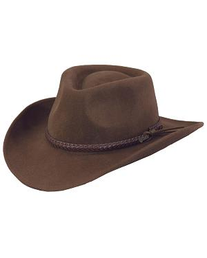 Outback Trading Co. Dusty River Crushable Australian Wool Hat