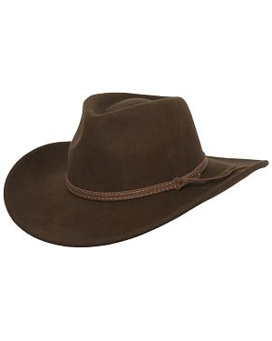 Outback Trading Co. Cooper River Crushable Australian Wool Hat