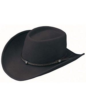 Outback Trading Co. Durango Oval Crown Crushable Australian Wool Hat