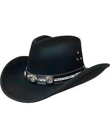 Jack Daniels Black Crushable Hat