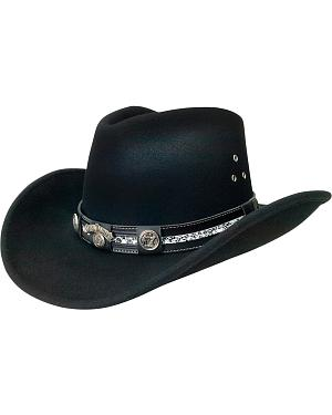 Jack Daniels Black Crushable Hat