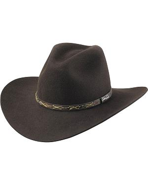 Tony Lama Chocolate 3X Wool Felt Cowboy Hat