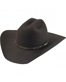 Tony Lama Low Rodeo Chocolate 3X Wool Cowboy Hat