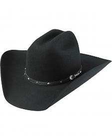 Tony Lama Low Rodeo Black 3X Wool Cowboy Hat