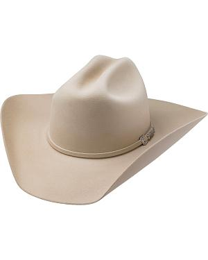 Tony Lama Low Rodeo Silverbelly 6X Fur Felt Cowboy Hat