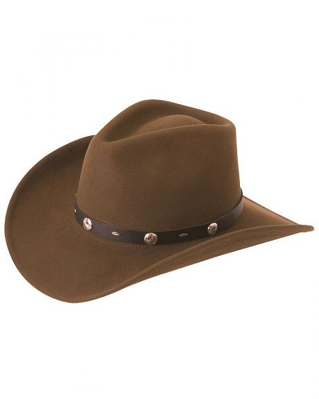 Silverado Crushable Wool Felt Hat