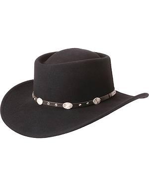 Silverado Gambler Wool Felt Hat