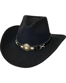 Silverado Tycoon Crushable Wool Felt Cowboy Hat