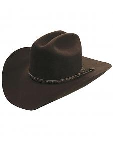Silverado Chocolate Wool Felt Cowboy Hat