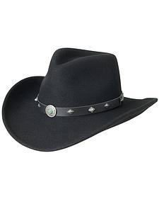 Silverado Fancy Pinch Front Crushable Wool Cowboy Hat