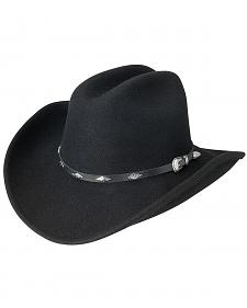Silverado Cattleman Crushable Wool Cowboy Hat