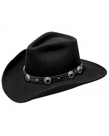 Master Hatters Men's Defiance Wool Felt Cowboy Hat