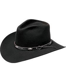 Master Hatters Men's Diamond Wool Felt Cowboy Hat