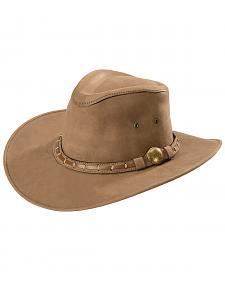 Bullhide Men's Timber Mountain Top Grain Leather Hat