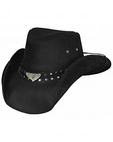 Bullhide Men's Born To Ride Leather Hat