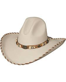Bullhide Sandstone Cliff 8X Fur Blend Cowboy Hat