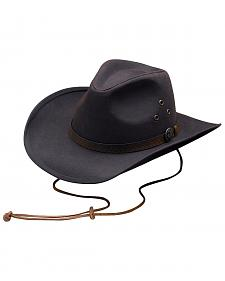 Outback Trading Co. Oilskin Trapper Hat